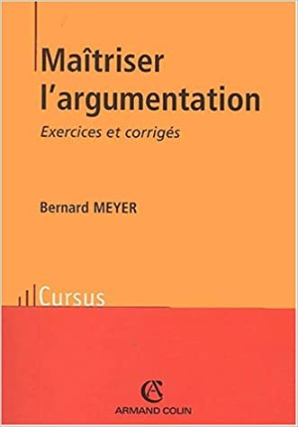 Lire Maîtriser l'argumentation pdf epub