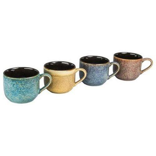 4 Piece 16 oz. Reactive Mug Set [Set of 4] -