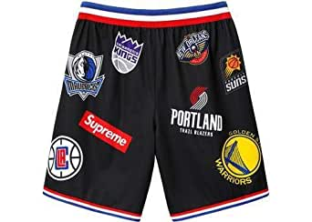 no sale tax new release coupon codes Supreme x NBA x Air Force Shorts at Amazon Men's Clothing store: