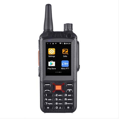 ONETHINGCAM Worldwide Talk 3G Network Smartphone Two-Way Radio Walkie Talkie G22 Plus,3 Inch Touch Sreen Dual Cameras Dual SIM Cards, Android 4.2.2 OS Support REALPTT & Zello Talk ()