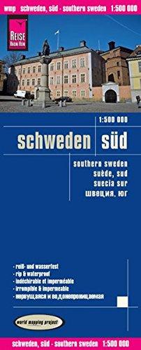 Reise Know-How Landkarte Schweden Süd (1:500.000): world mapping project