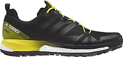 Adidas Terrex Agravic GTX, Scarpe da Escursionismo Uomo, Grigio (Griosc/Negbas/Amabri), 44 EU