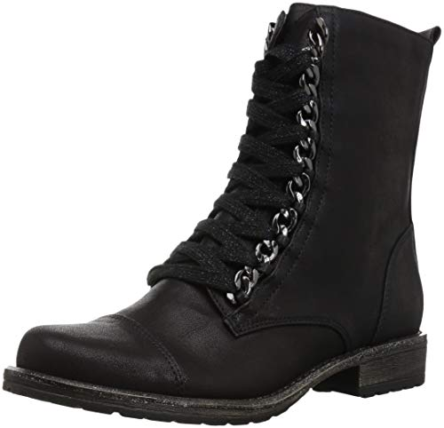 Combat Boots For Kid (Dolce Vita Girls' Lundy Combat Boot, Black Stella, 2 M US Little)