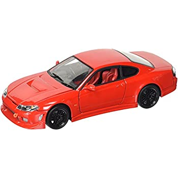 Amazon Com Welly Nissan Silvia 240sx S 15 Diecast Car Red Toys