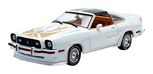 1/18 1978 Ford Mustang II King Cobra(ポーラーホワイト×ゴールド) 12939