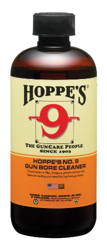 Hoppe's No. 9 Gun Bore Cleaning Solvent, 1-Pint Bottle - 1 Pint Kit