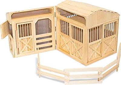 Melissa & Doug Children's Folding Horse Stable