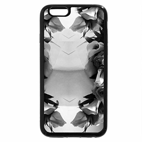 iPhone 6S Plus Case, iPhone 6 Plus Case (Black & White) - Bouquet For My Friend Luna