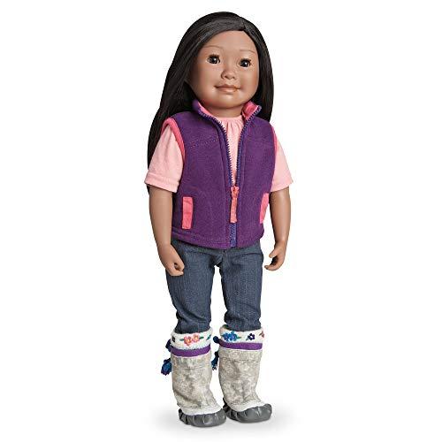(Maplelea Saila, 18 Inch Doll of Inuit)
