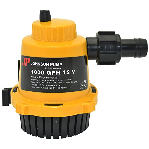 Johnson Pumps 22102 1000 GPH Proline Bilge Pump