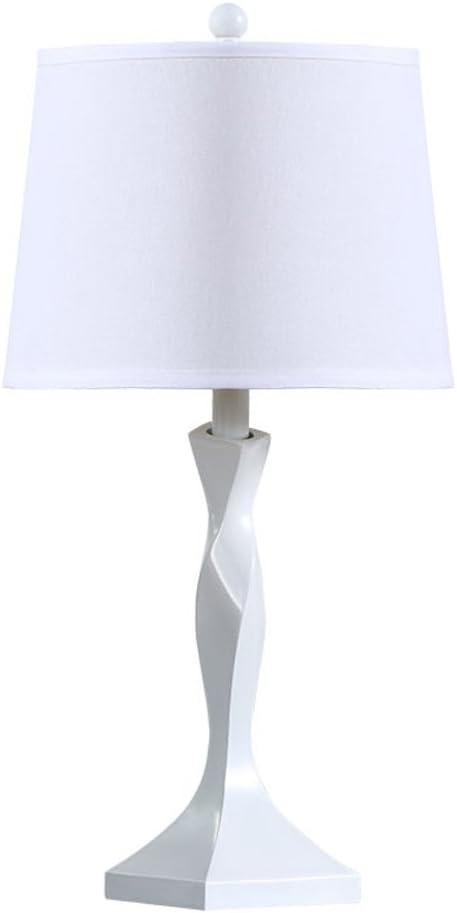 Comodino Lampade Camera Da Letto Design.Torcendo La Lampada Da Tavolo Bianco E27 Soggiorno Moderno