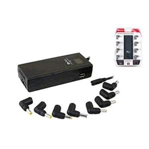 Keyteck NB-CRG120W - Cargador (Interior, Portátil, Corriente alterna, USB, Negro, 110 - 240 / 5)