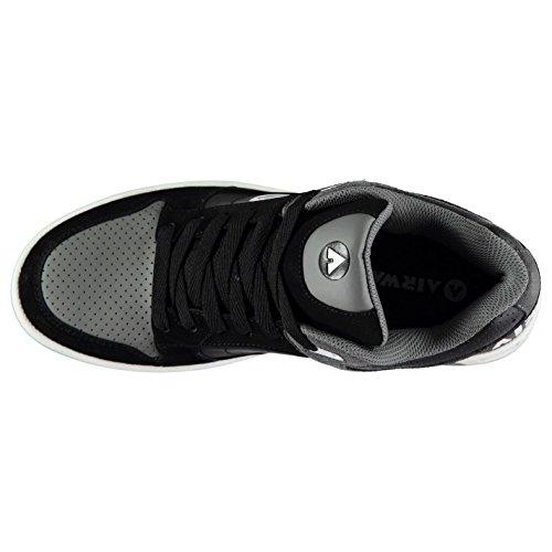 Skate Negro Shoes 38 Gris 5 Child Throttle Airwalk azngxw