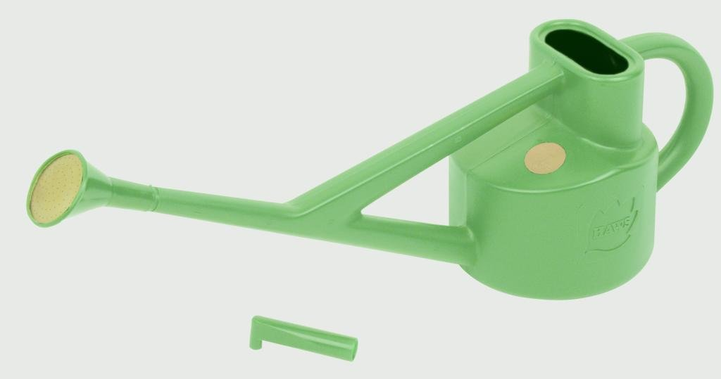 Bosmere V110 Haws Plastic Outdoor Conservatory Watering Can, 0.6-Gallon/2.25-Liter, Green