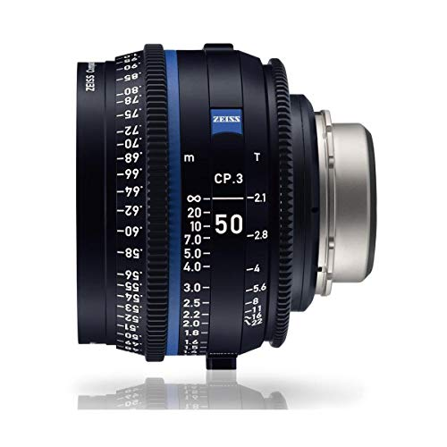 Zeiss 50mm T2.1 CP.3 Compact Prime Cine Lens (Feet) with Canon EF Mount