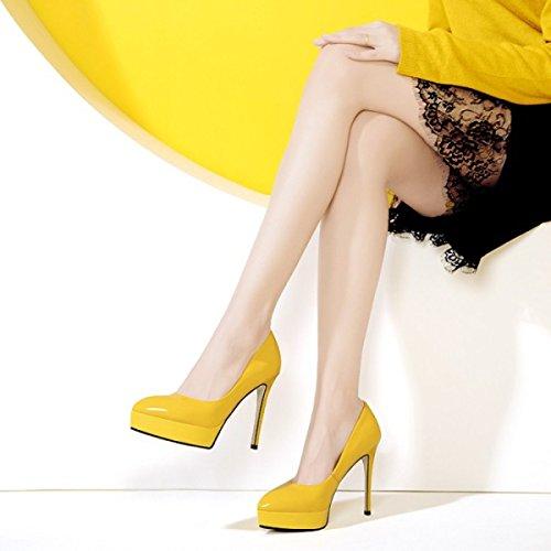 Hochhackigen Hochzeit Plattform Schuhe High Hof Geschlossene Damen Frauen Zehe Heels Stiletto Sexy Schuhe Farben 3 Schuhe Pumps XwP6qRY