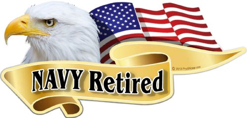 Navy Retired Decal - ProSticker 935 (One) 3