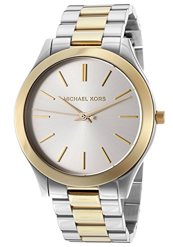 Michael Kors Women's MK3198 - Slim Runway Two Tone by Michael Kors