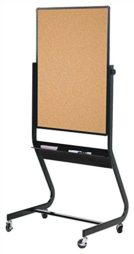 Euro Reversible Boards - Projection Plus/Natural Cork (72 in. W x 48 in. H (155 lbs.)) - Cork Euro Reversible Board
