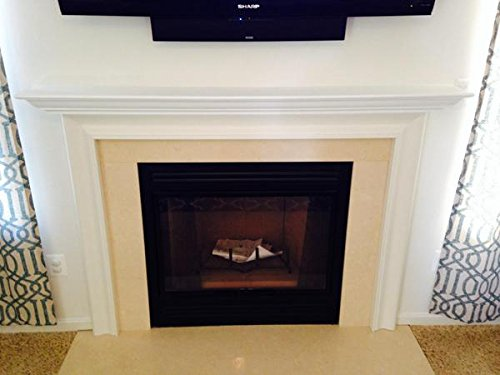 Buy fireplace mantels 60 inches white