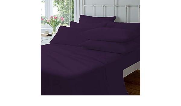 Devi Bedding Juego de sábanas de lujo de 800 hilos, 100% puro ...