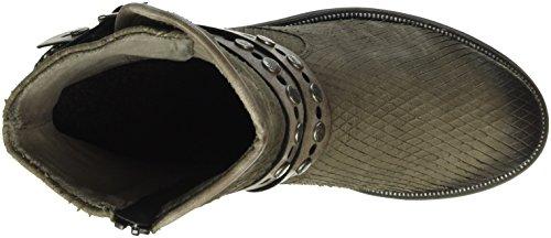 Bisam Grau Damen Cigar Biker Boots Remonte 25 D1776 8Uwzg