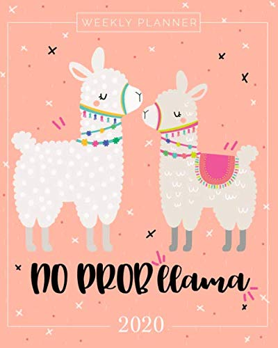 2020 Planner Weekly and Monthly: January to December: No Probllama Cover (2020 Planner Series)