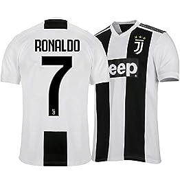 Enjoyfeel T-Shirt, Ronaldo Fans Gift, T-Shirt de Sport de Football, Maillot de la Juventus