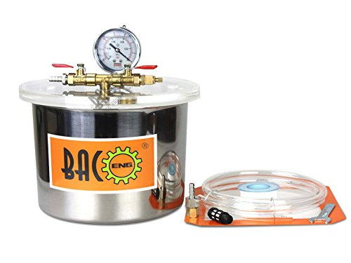 BACOENG Stainless Chamber Silicone Degassing product image