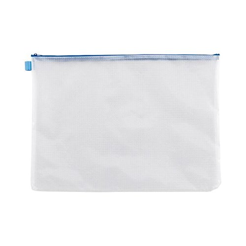 TANOSEE メッシュケース A3タテ340×ヨコ470mm 青 1セット(20枚) 生活用品 インテリア 雑貨 文具 オフィス用品 その他の文具 オフィス用品 14067381 [並行輸入品] B07L35HHN2