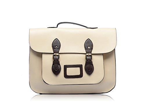 15CM Large 25CM Vintage Satchel Work Girls Shoulder Briefcase 35CM Size Medium Bag Ladies School wxqBOAA75