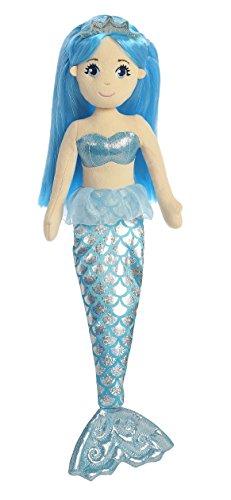 Aurora World Sapphire Sea Sparkles Mermaid Plush