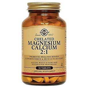 Tabs Calcium Chelated (Solgar – Chelated Magnesium Calcium 2:1, 90 Tablets)