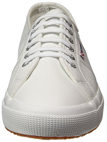Leather 2750 White Up Plimsoll Ukfglu Low Superga Womens Top Lace Sneakers fq8pxZ5xw