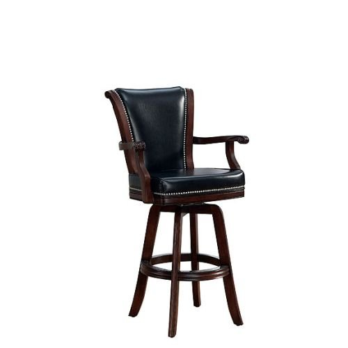 American Heritage 30 in. Napoli Swivel Bar Stool - Suede