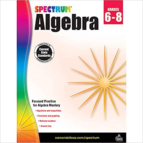 Spectrum Algebra Workbook