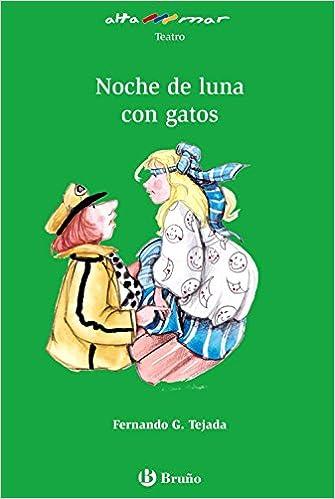 Noche de luna con gatos Castellano - A PARTIR DE 10 AÑOS - ALTAMAR: Amazon.es: García Tejada, Fernando, Cañas Cortázar, Alicia: Libros