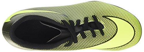 Nike Unisex-Kinder Bravata Ii Fg Fußballschuhe für Trainingseinheiten Schwarz (Black/vert Volt)