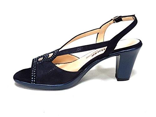 Melluso sandalo r50101 blu notte