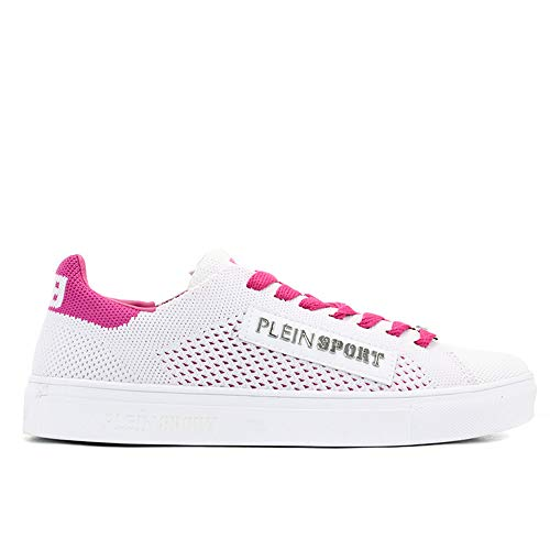 sport 37EU da Scarpa Plein Donna Rosa Bianco by Plein 0768 Philippe Taglia Sneakers dq7EwE