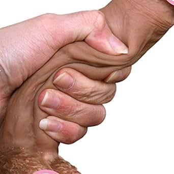 BaZhaHei Consolador Hembra Adulta Vibrador a Prueba de Agua Anal Masajeador G-Spot Dildo Realista Simulación de pene Gigante para la masturbación Juguete Masajeador g Enorme tamaño Pene