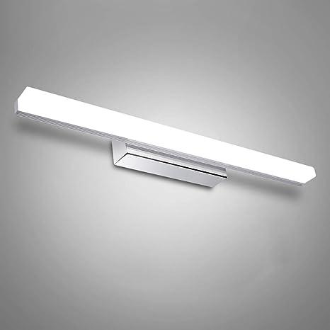 Lampada Specchio Bagno - 12W/50cm Applique da Parete interno moderno ...