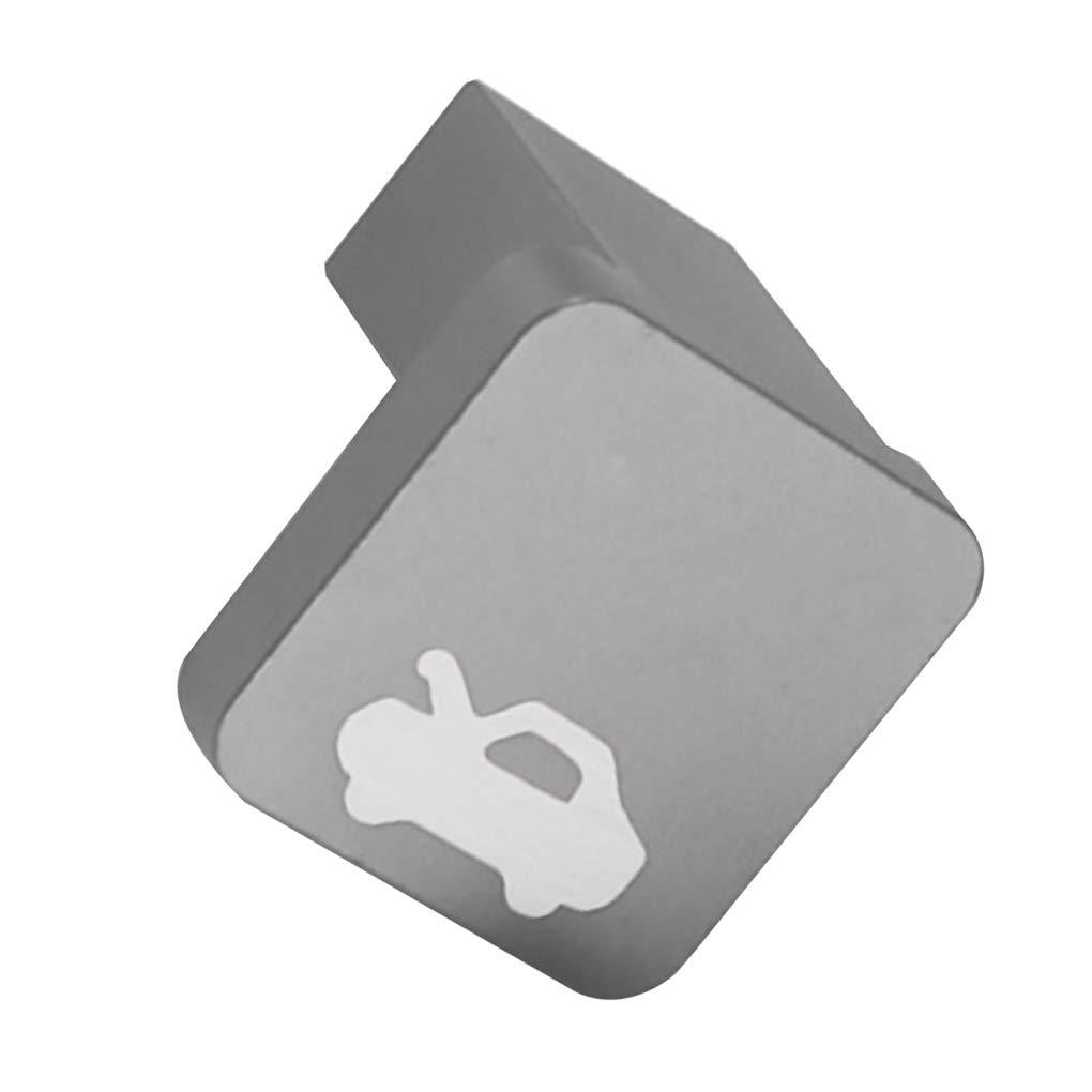 Meisijia Lega di Alluminio Hood Fermo di Rilascio della Maniglia Kit di Riparazione di Ricambio per Honda Civic 1996-2005 Auto Accessori Auto