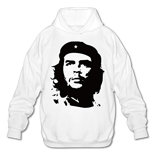Self Portrait Che Guevara Silhouette Men Hoodies Sweatshirts Pullover Cool Hoodies (Silhouette Hoodie Mens)