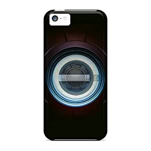 Top Quality Case Cover For Iphone 5c Case With Nice Iron Man Chest Appearance by runtopwell