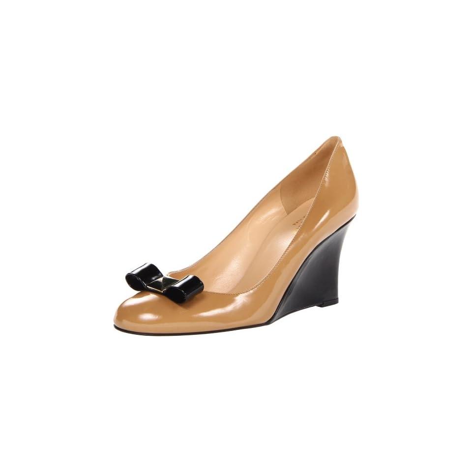 kate spade new york Womens Mania Dress Pump,New Camel Patent,6 M US