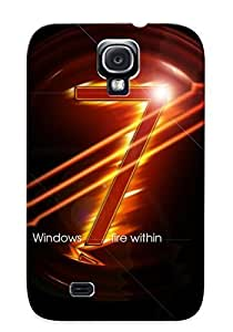 DoQZdNw1535xZRFV PC Phone Case With Fashionable Look For Case Ipod Touch 4 Cover - Windows 7 - Fire Within Case For Christmas Day's Gift