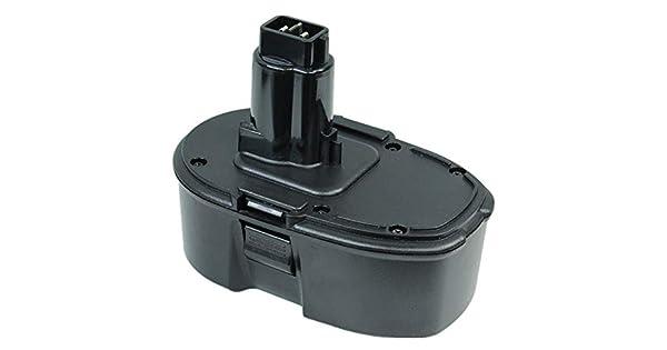 Amazon.com: 18 V Ni-CD Batería de repuesto para Dewalt ...