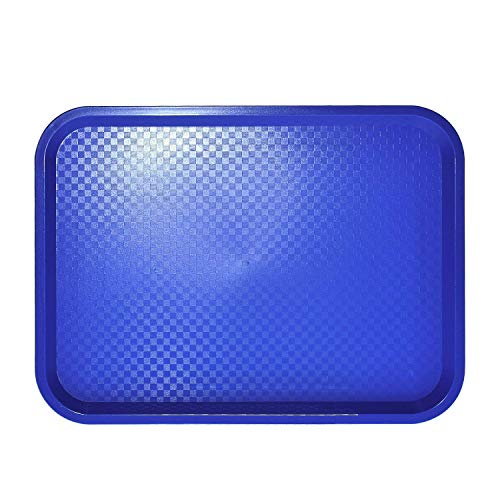 - Source One Premium Food Service Tray 12 Inches x 16 Inches Perfect for Cafeterias, Schools, Quick Service Restaurants (6, Blue)