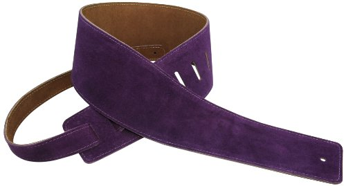 Perris Leathers Suede Guitar Strap Soft, For Bass, Acoustic & Electric Guitars - 3.5